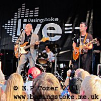 The Blockheads headline Basingstoke Live! 2011, photo � E.P.Tozer