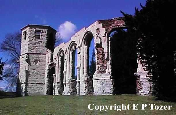 Holy Ghost ruins, image © E.P.Tozer