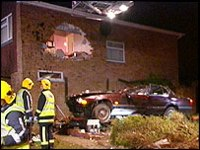 car crash house - photo from BBC News
